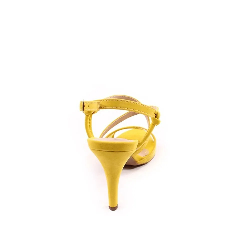 Sandália Amarela Salto Alto | D-3.000-471