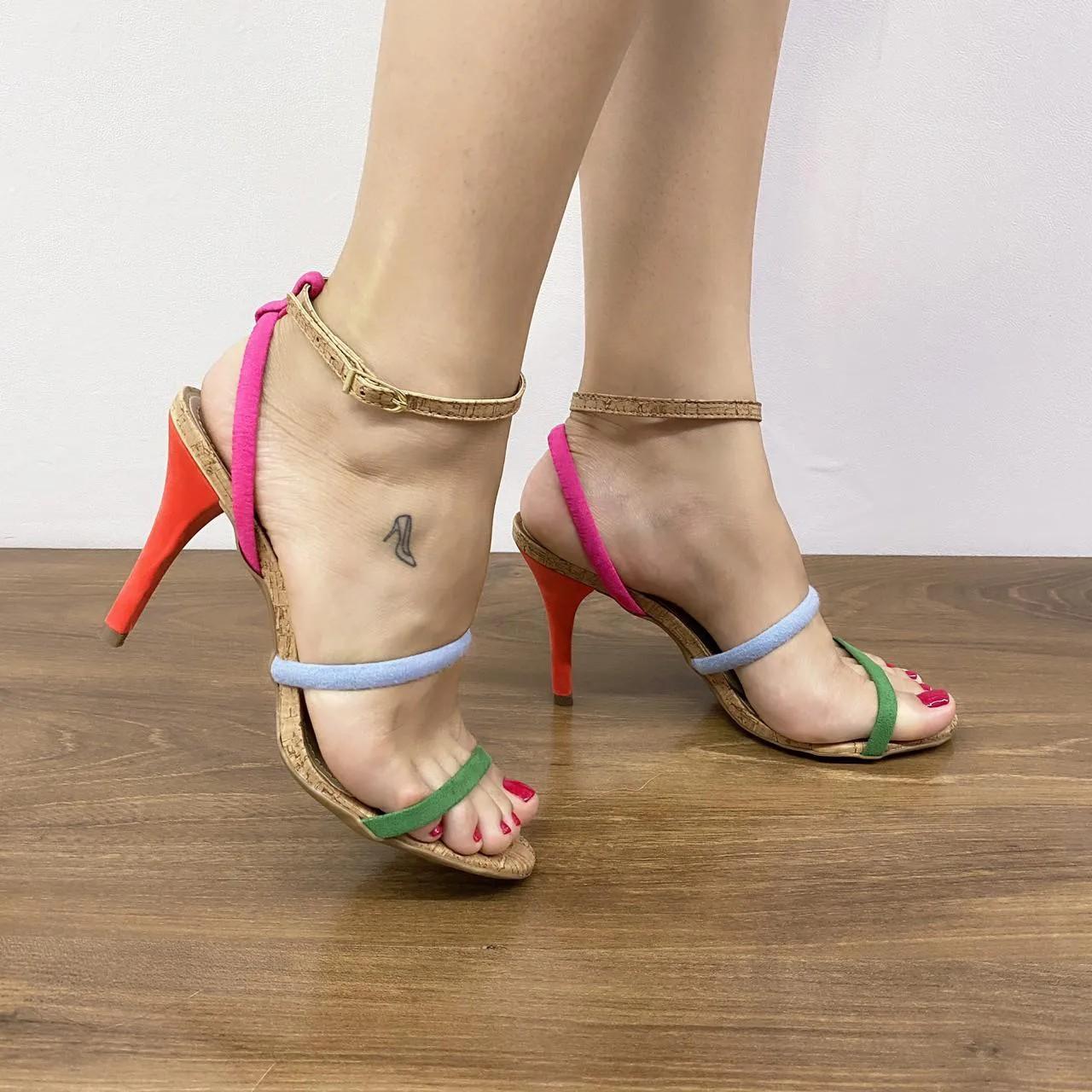 Sandália Multicolor Lavanda | D-3.000-445