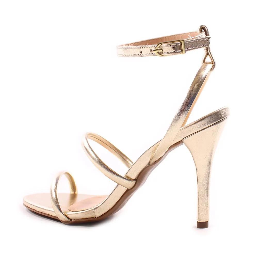 Sandália Ouro Metalizado Boston | D-3.000-445