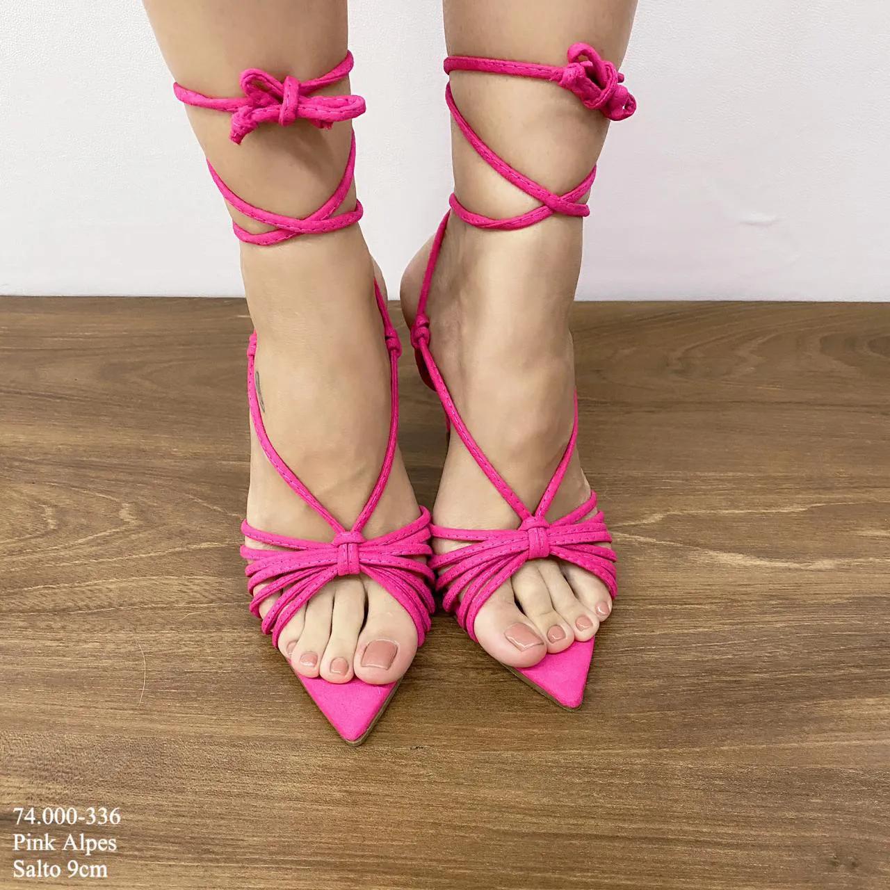 Sandália Pink com Tiras | D-74.000-336