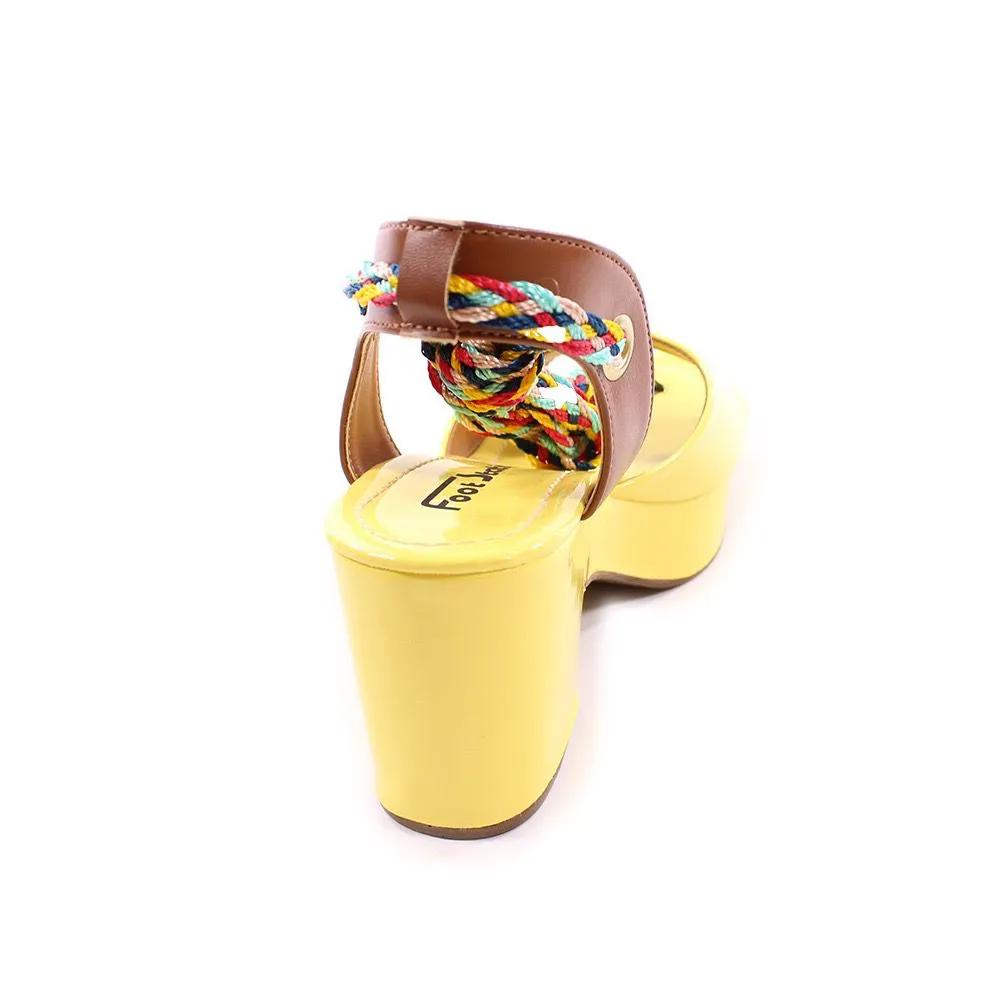 Sandália Amarela Multiuso   D-4515-368