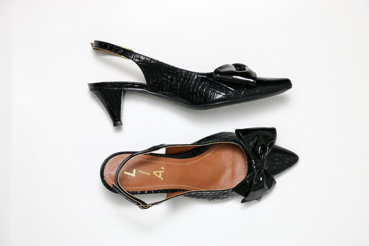 Sarpin Chanel Preto Croco | D-48.000-96