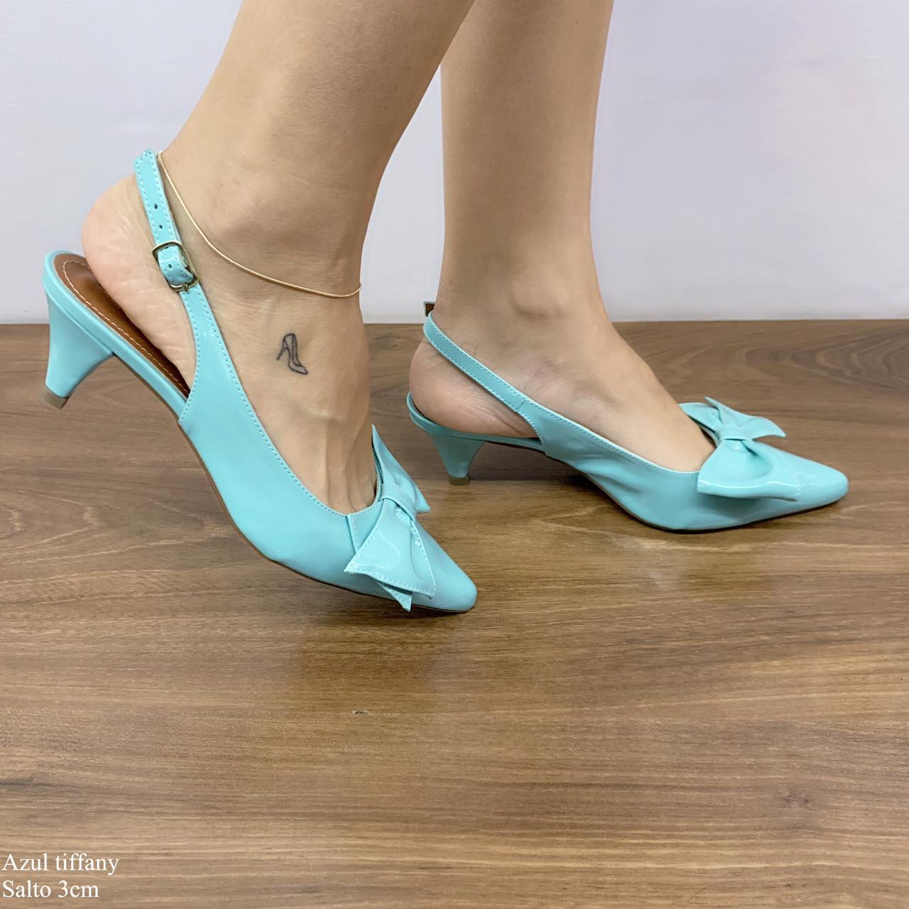 Scarpin Chanel Azul Tiffany | D-2021