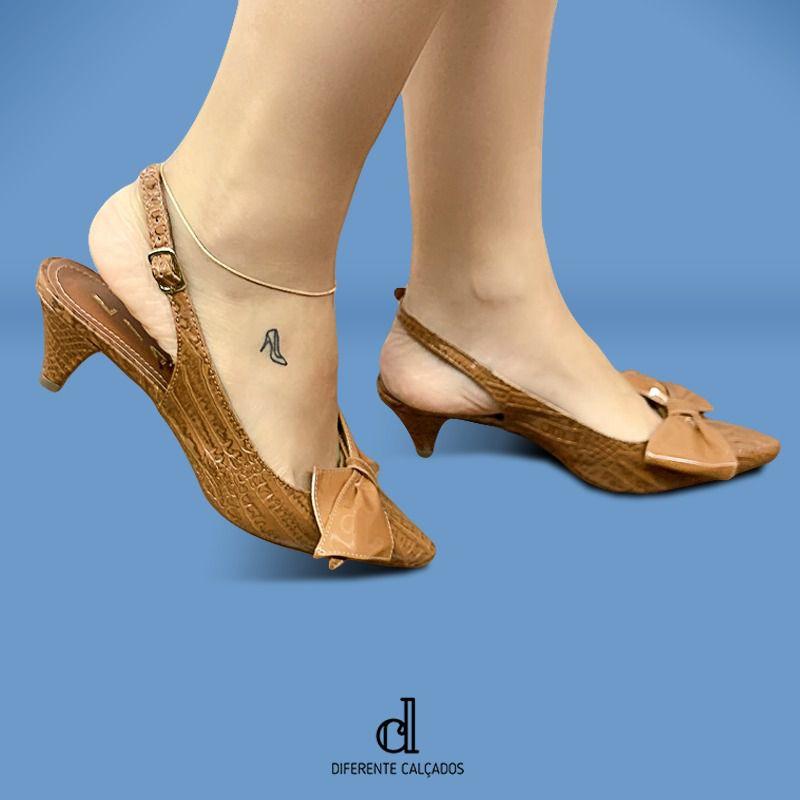 Scarpin Chanel Caramelo | D-48.000-96