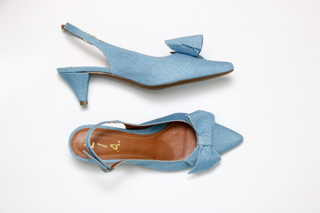 Scarpin chanel Jeans | D-48.000-96