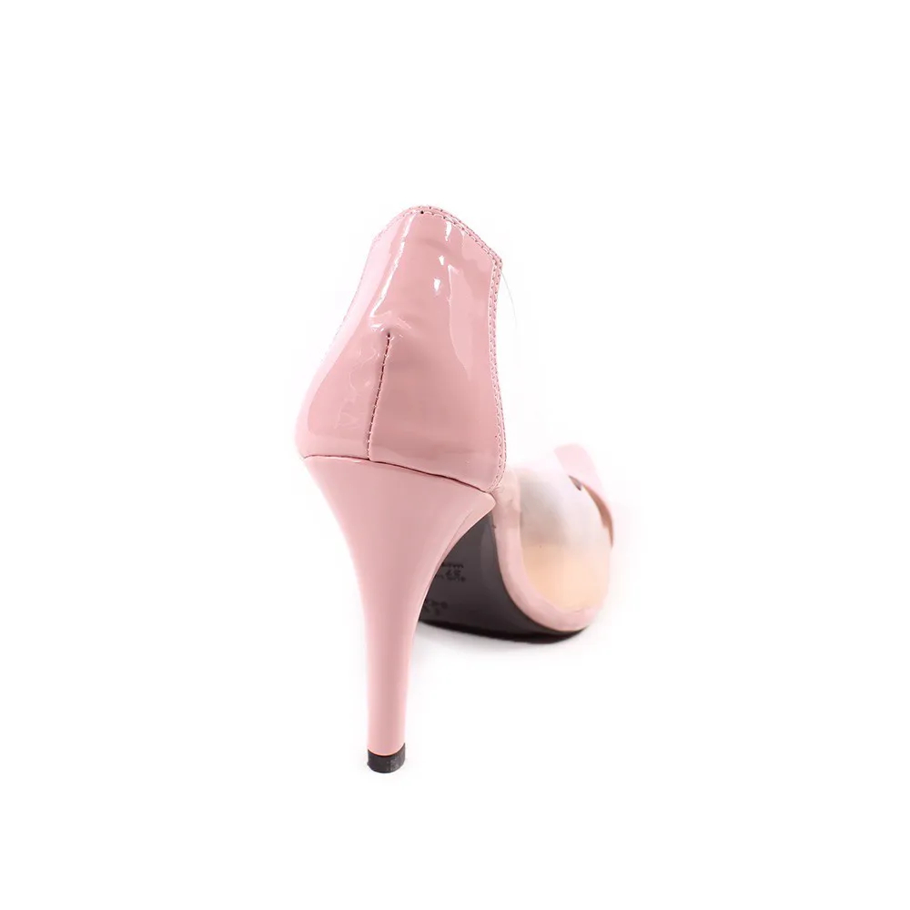 Scarpin Feminino Vinil Rose   D-25.000-439