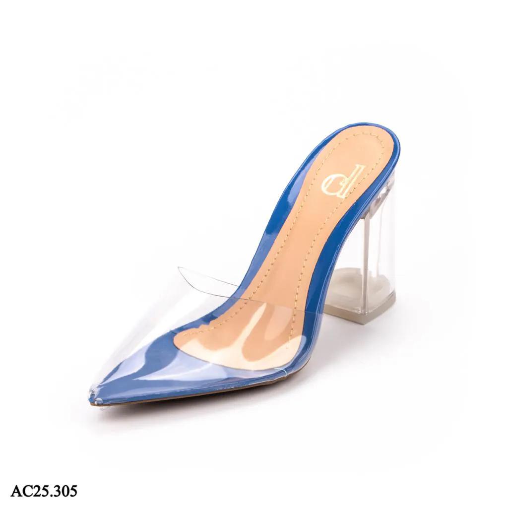 Scarpin Mule Azul Marinho   D-AC25.305