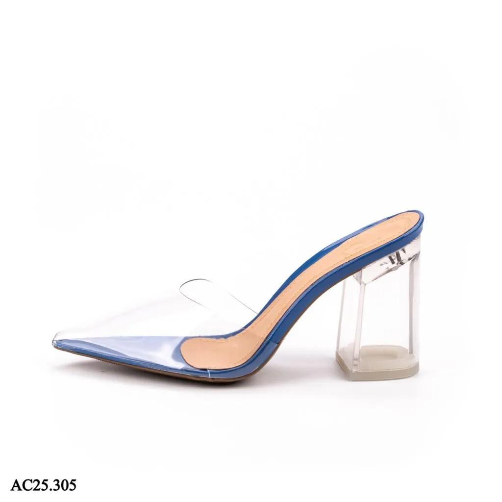 Scarpin Mule Azul Marinho | D-AC25.305