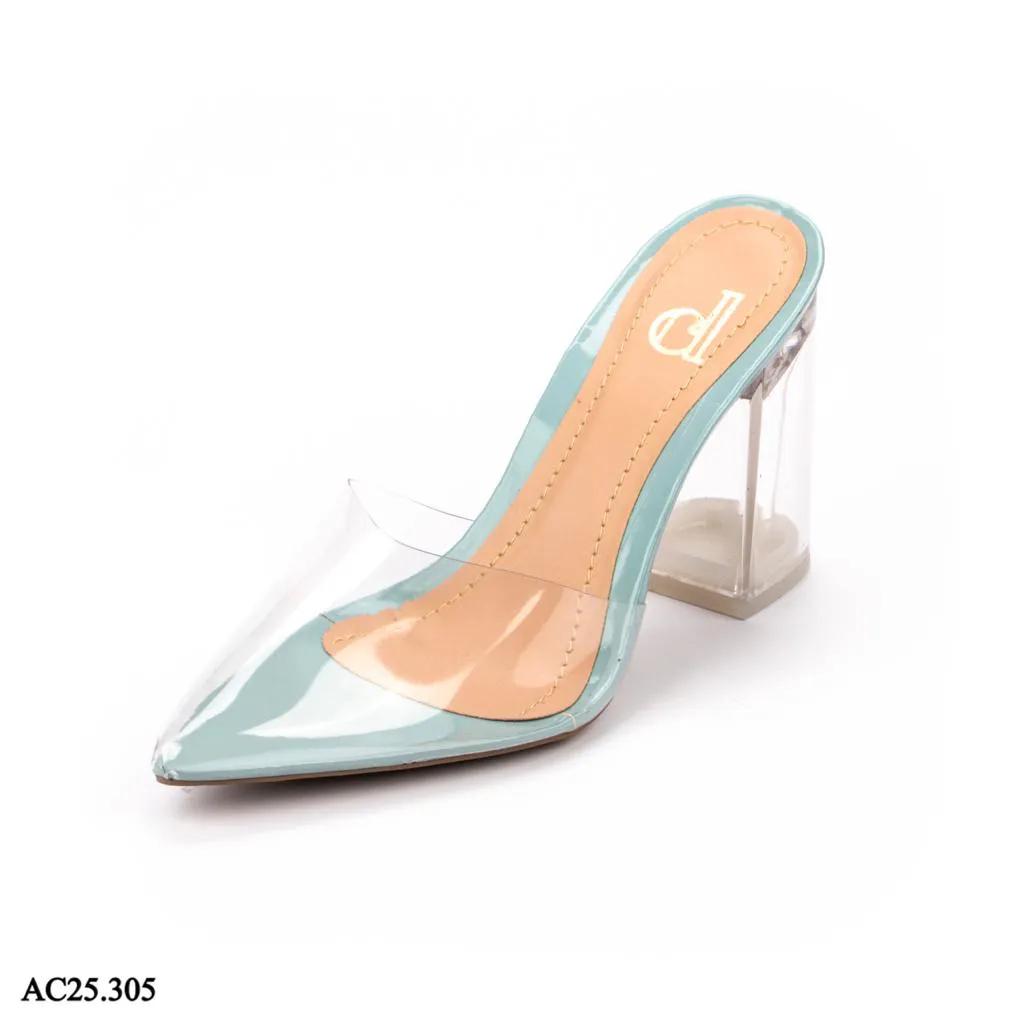 Scarpin Mule Azul Denin | A-C25.305