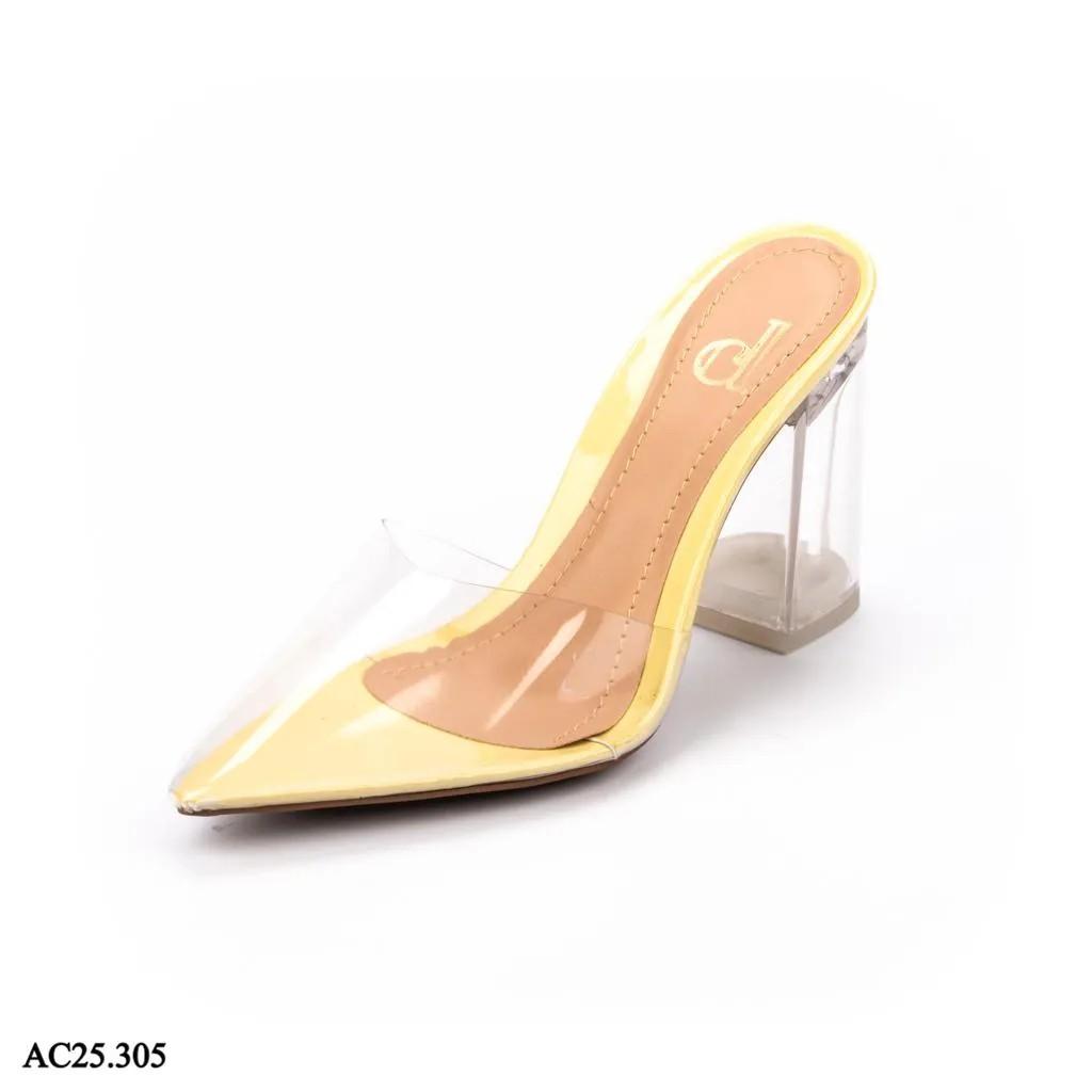 Scarpin Mule Amarelo Melão | A-C25.305