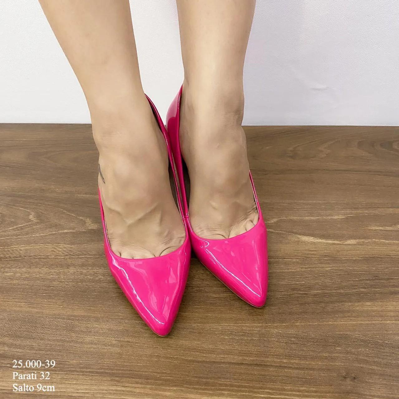 Scarpin Pink Salto Alto | D-25.000-39
