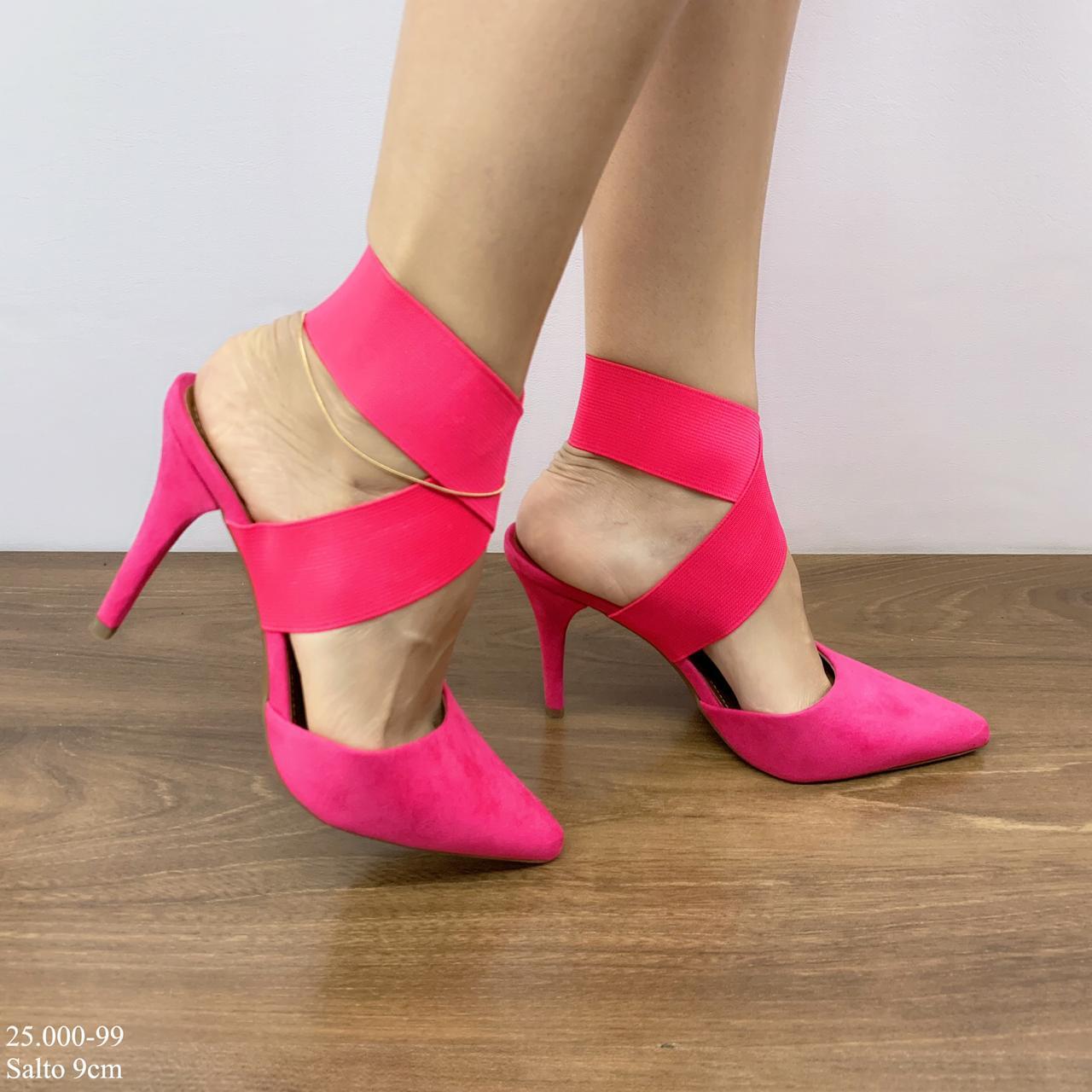 Scarpin Pink Elastico | D- 25.000-99