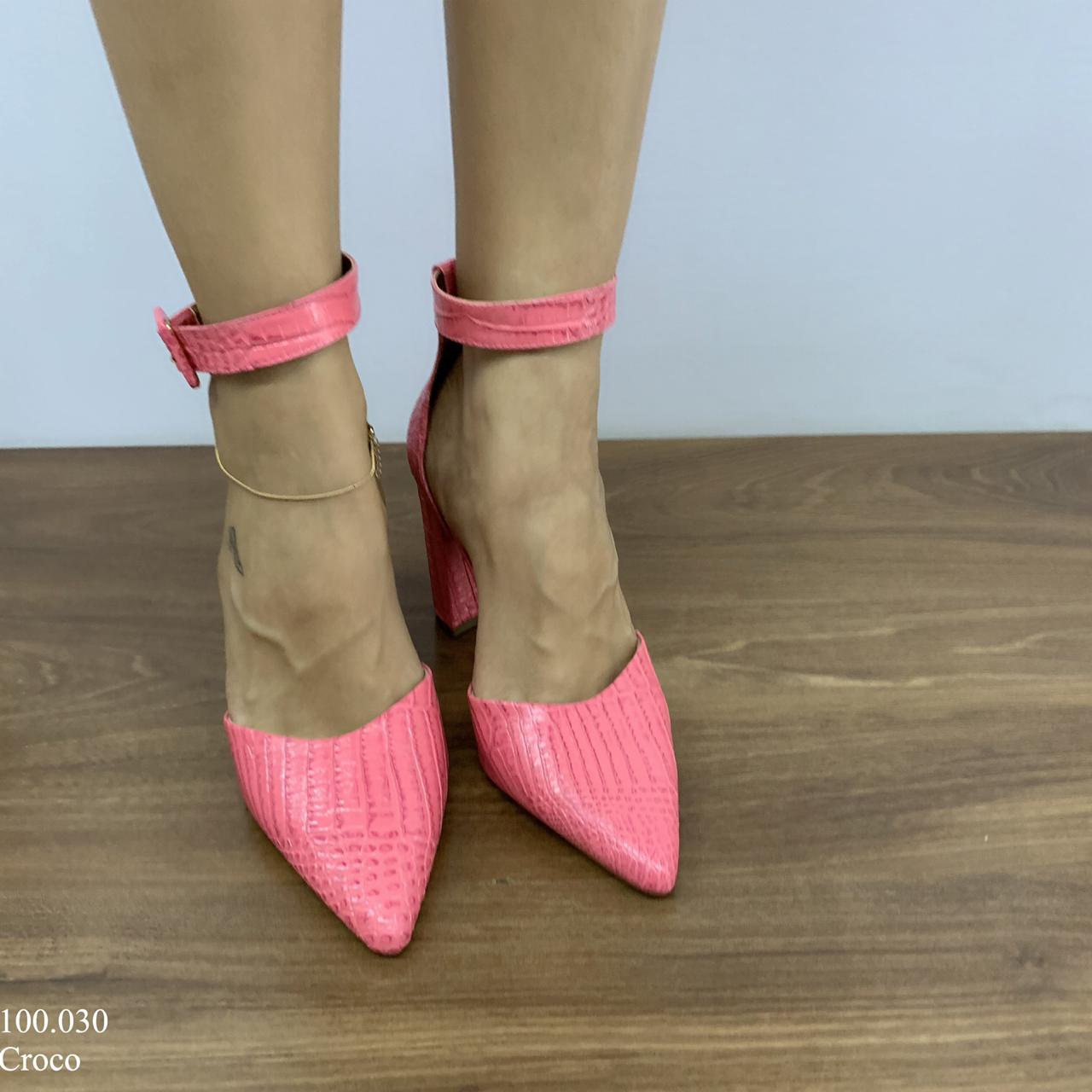 Sapato Scarpin Rosa | D-100.030