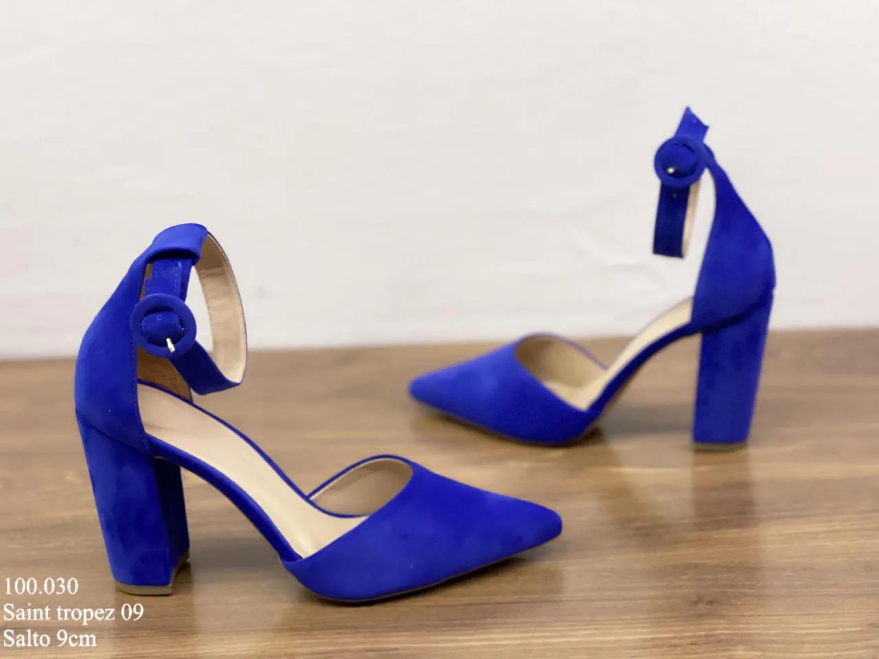 Scarpin Azul Saint Tropez | D-100.030