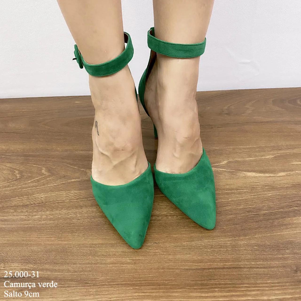 Scarpin Verde Salto Alto | D-25.000-31