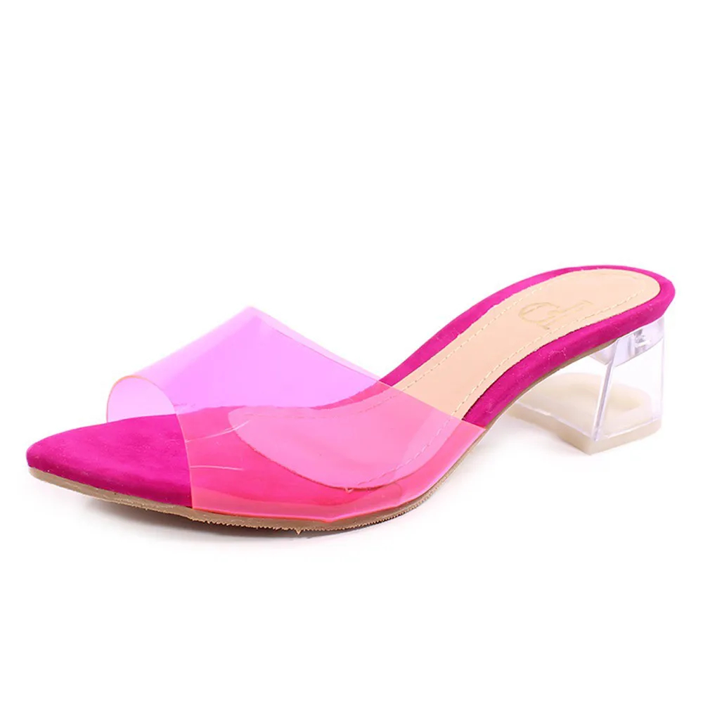 Tamanco bico folha  (Pink AC16.305)