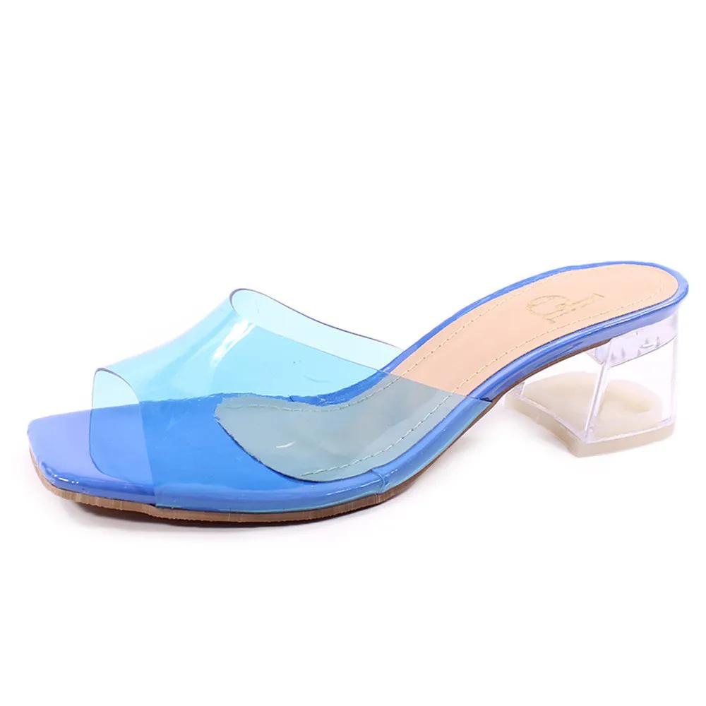 Tamanco Azul com Transparência | D-4.305