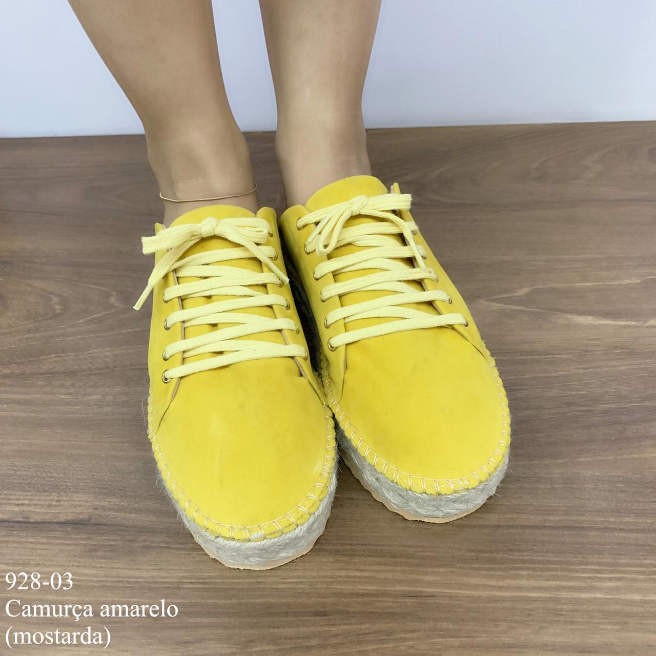 Tênis Mule Amarelo   D-928-03