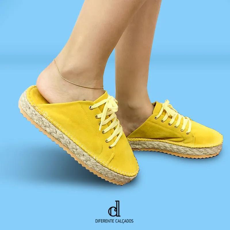 Tênis Mule Amarelo | D-928-03