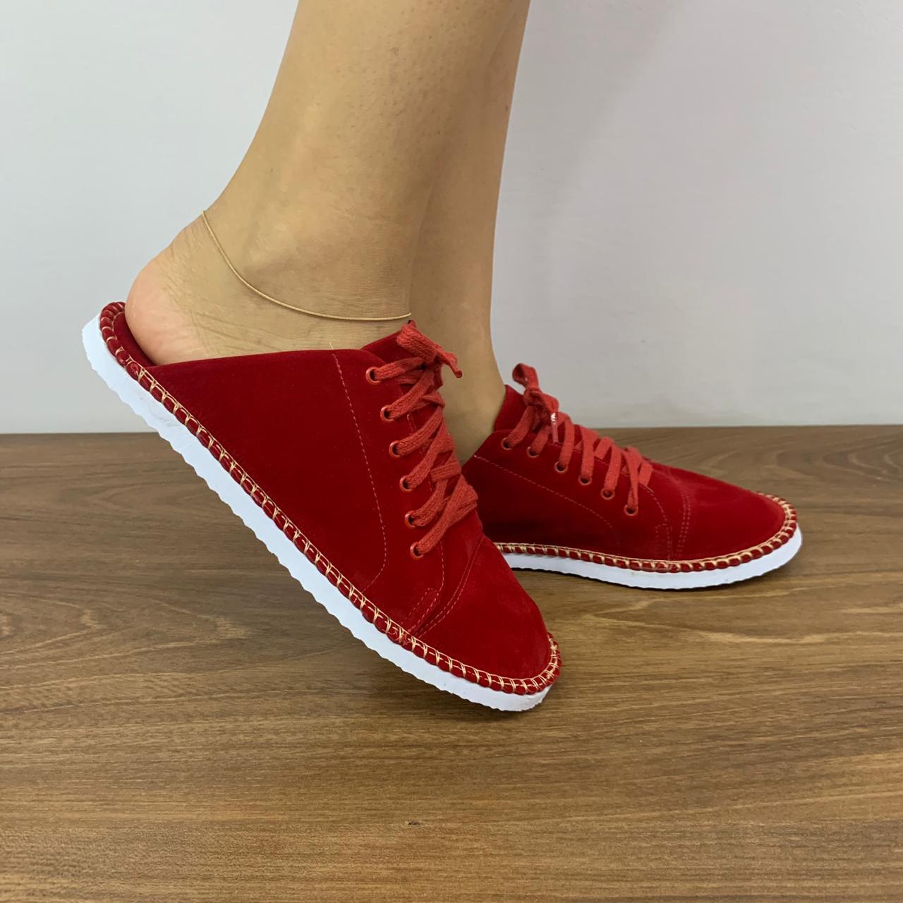 Tênis Babuch Vermelho   D-939-03