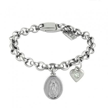 Cadeia Consagração Nossa Senhora de Guadalupe Pingente Coração Corrente Nº 1