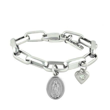 Cadeia Consagração Nossa Senhora de Guadalupe Pingente Coração Corrente Nº 3