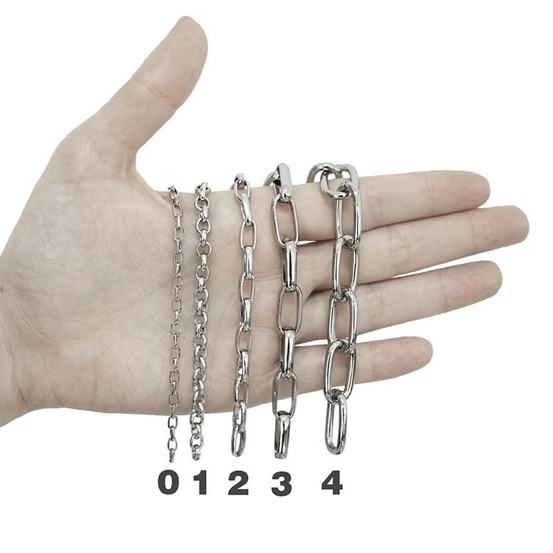 Cadeia Consagração Nossa Senhora do Rosário Corrente Nº 1 Fecho Lagosta (Cadeado Believe)
