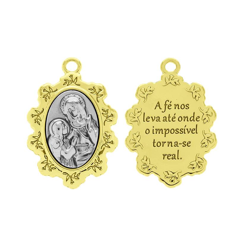 Medalha Nossa Sra. Menina e Santa Ana
