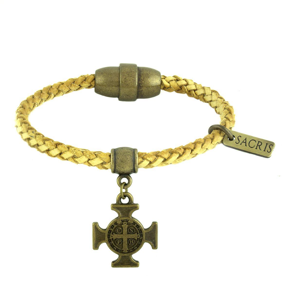 Pulseira  Cruz de São Bento
