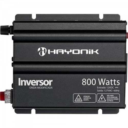 Inversor 800W 12VDC/127V Onda Modificada HY