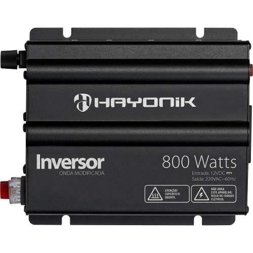 Inversor 800W 12VDC/220V Onda Modificada HY