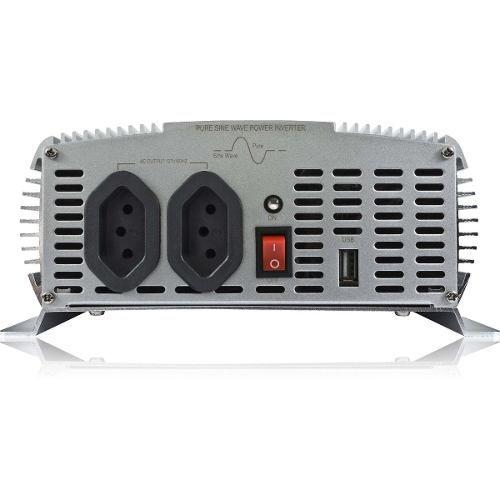 Inversor 1000W 12VDC/220V Onda Senoidal C/ USB - Hayonik