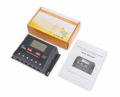 Controlador De Carga 30A PWM SR-HP2430B 12V/24V Bluetooth - SRNE