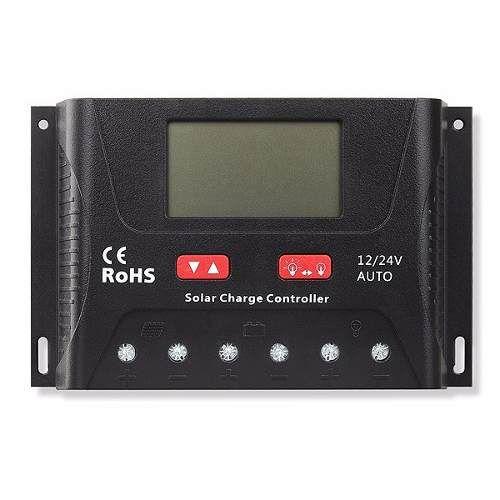 Controlador de Carga 60A PWM SR-HP2460 12V/24V - SRNE