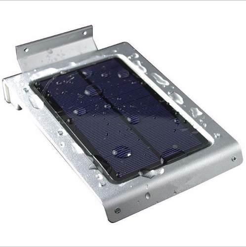 Luminária De Parede Solar 46 Leds 2w C/ Sensor De Movimento