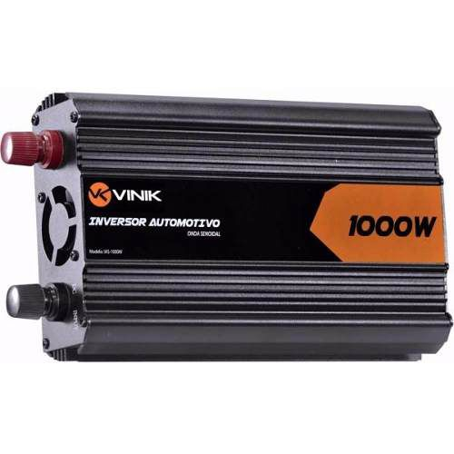 Inversor 1000W Onda Senoidal 12V/127V - Vinik