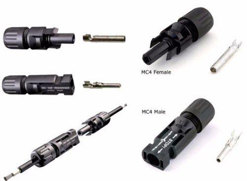 Conector MC4 P/ Painel Cabo Solar 4 a 6mm Par Multi-Contact