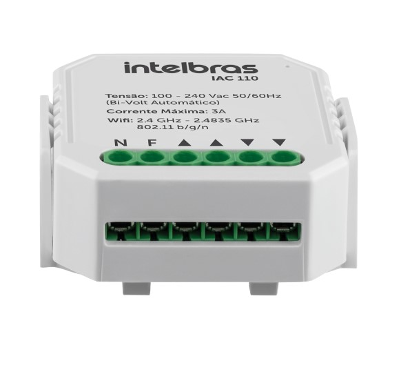 Acionador de Cortinas Smart Intelbras IAC 110