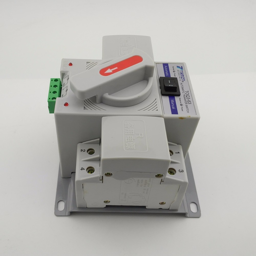 Chave de Transferência Automática 2 Polos 63A 220V