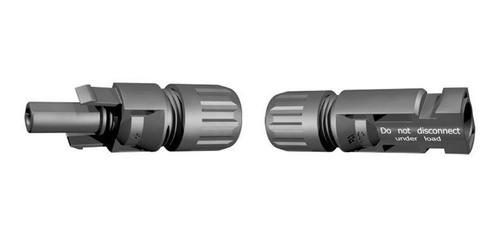 Conector MC4 P/ Painel Cabo Solar 4 a 6mm Par Multi-Contact C/ 10 Pares