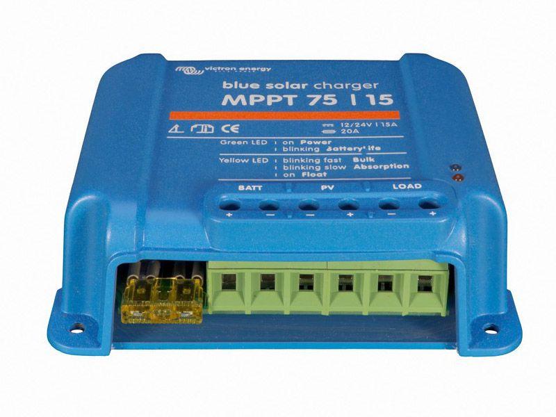 CONTROLADOR CARGA SOLAR VICTRON MPPT 75V 15A 12/24V
