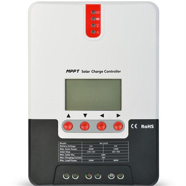 Controlador de Carga 20A MPPT SR-ML2420 12V/24V - SRNE