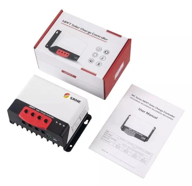 Controlador de Carga 30A MPPT - MC2430N10 SRNE