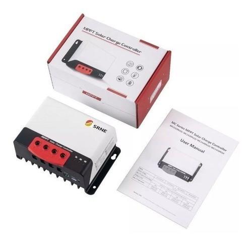 Controlador de Carga 50A MPPT - MC2450N10 SRNE