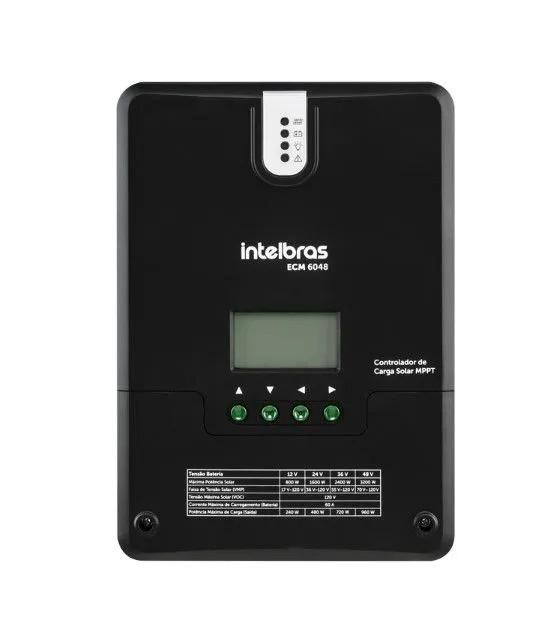 Controlador de Carga 60A MPPT ECM 6048 intelbras