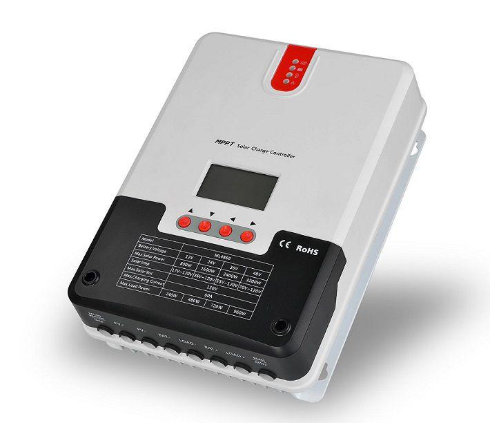 Controlador de Carga 60A MPPT SR-ML4860 12V/24V/36V/48V - SRNE