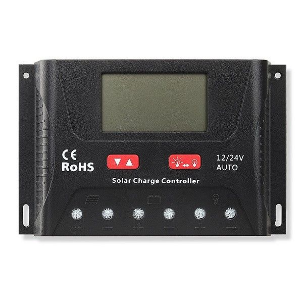 Controlador de Carga Solar 40A PWM SR-HP2440 12V / 24V - SRNE