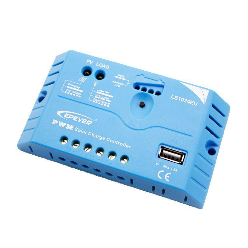 Controlador de Carga Solar Epsolar Landstar LS1024EU 10A 12/24V USB
