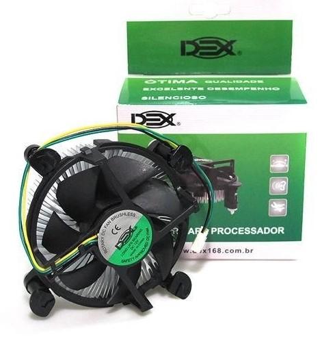 Cooler P/ Processador LGA 1155/1156 - DEX