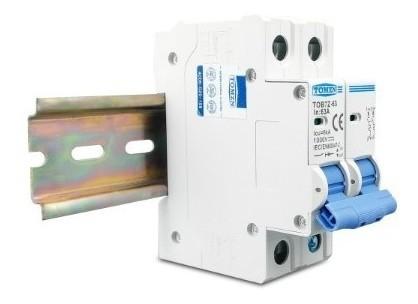 Disjuntor DC/CC 32A 1000V Bipolar P/ Painéis Solar / Baterias